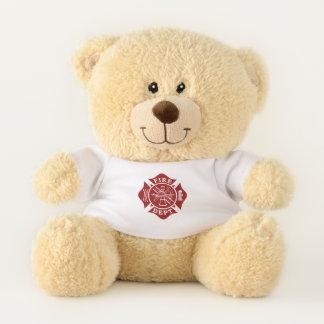 Ursinho De Pelúcia Urso de ursinho da cruz maltesa do departamento do