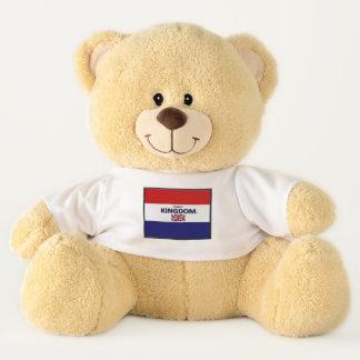 Ursinho De Pelúcia Urso de ursinho das Bandeira-Cores de Reino Unido