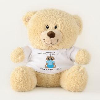 Ursinho De Pelúcia Urso de ursinho do jogo de vídeo do bebé do