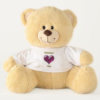 Ursinho De Pelúcia Urso de ursinho do olhar de outubro Birthstone