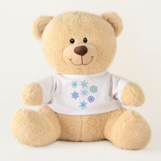 Ursinho De Pelúcia Urso de ursinho enchido t-shirt do teste padrão do