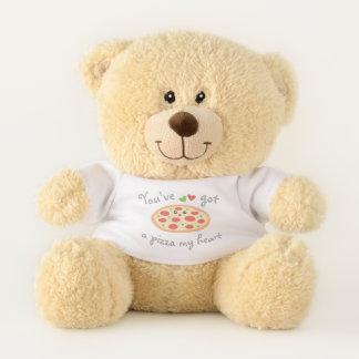 Ursinho De Pelúcia You've obteve a uma pizza meu coração chalaça