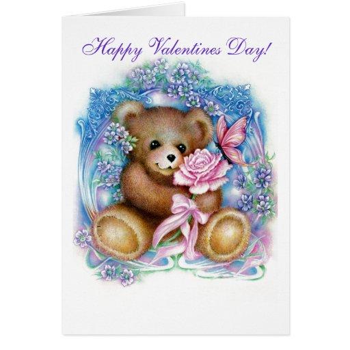 ursinho, dia dos namorados feliz! cartões