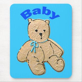 Urso adulto do bebé mouse pad
