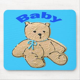Urso adulto do bebé mouse pads