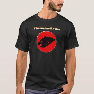 Urso alegre das cores do orgulho do urso de camiseta