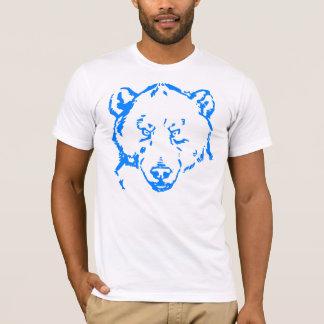 urso azul camiseta
