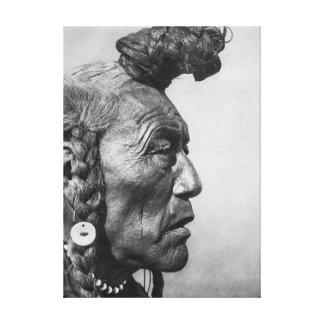 Urso Bull uma arte Blackfoot das canvas do