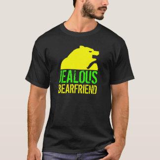 Urso ciumento do amarelo de Bearfriend Camiseta