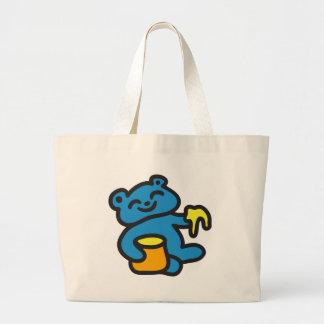 Urso com mel bolsas