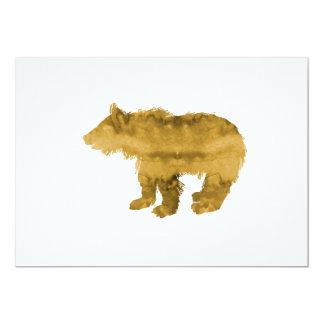 Urso Cub Convite 12.7 X 17.78cm