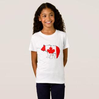 Urso Cub de Canadá Camiseta