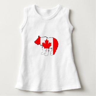 Urso Cub de Canadá Vestido