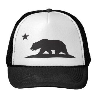 Urso da república de Califórnia - preto Bones