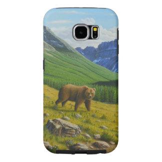 Urso de Brown Capa Para Samsung Galaxy S6