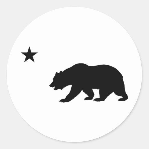 Urso de Califórnia Adesivos