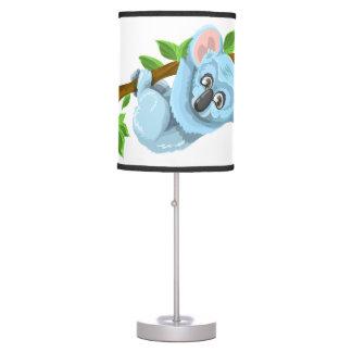 Urso de Koala bonito da lâmpada das crianças