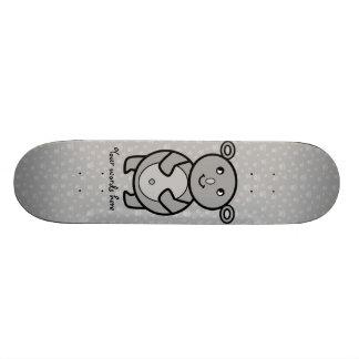 Urso de Koala de sorriso no teste padrão da pata Shape De Skate 20,6cm