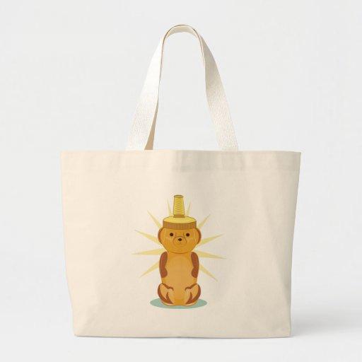 Urso de mel bolsas para compras