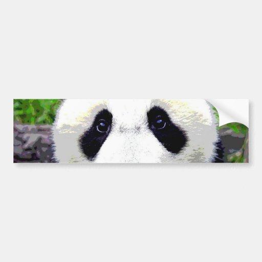 Urso de panda adesivo