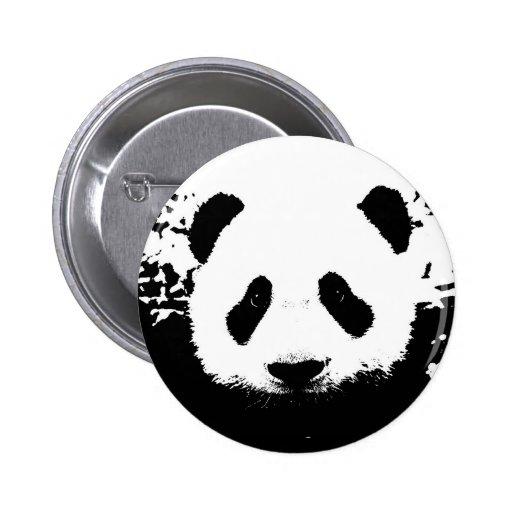 Urso de panda boton