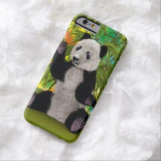 Urso de panda capa barely there para iPhone 6