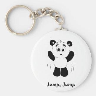 Urso de panda de Hip Hop dos desenhos animados Chaveiro