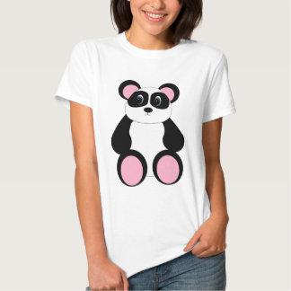 Urso de panda doce dos desenhos animados tshirts