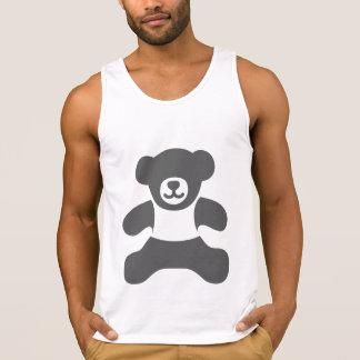 Urso de ursinho absoluto - obscuridade - cinzas