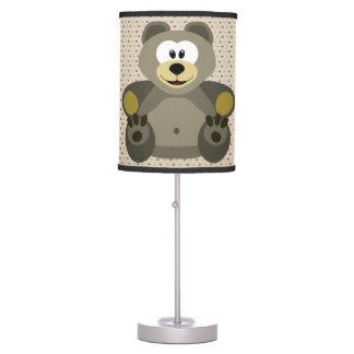 Urso de ursinho bonito da lâmpada das crianças