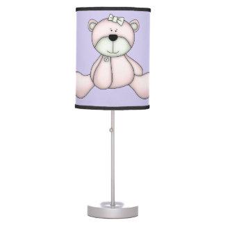 Urso de ursinho bonito do bebê da lâmpada das