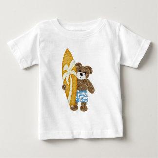 Urso de ursinho bonito do surfista tshirts