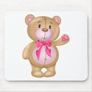 Urso de ursinho bonito mouse pad