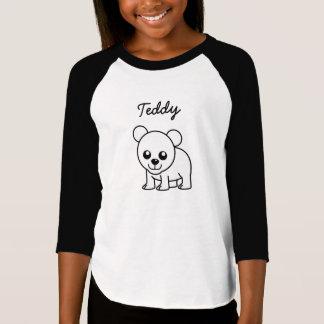 Urso de ursinho camiseta