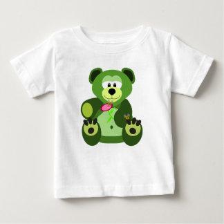 Urso de ursinho camiseta para bebê