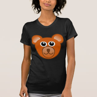 Urso de ursinho dos desenhos animados tshirts