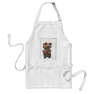 Urso de ursinho Funky - arte de Cricketdiane Avental