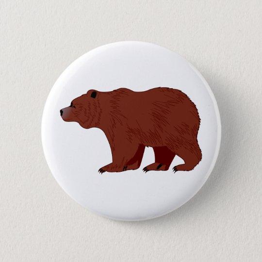 Urso de urso bóton redondo 5.08cm