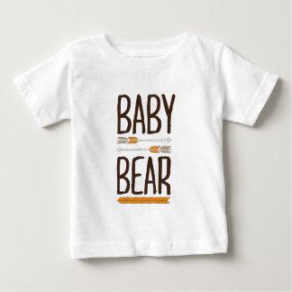 Urso do bebê camiseta para bebê