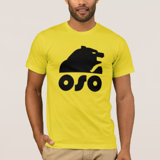 Urso do espanhol (Oso) Camiseta