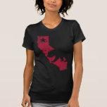 Urso do estado de Califórnia do vintage Camisetas