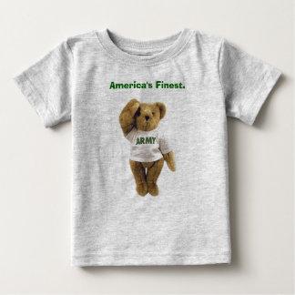 Urso do exército, América a mais fina. Camisetas