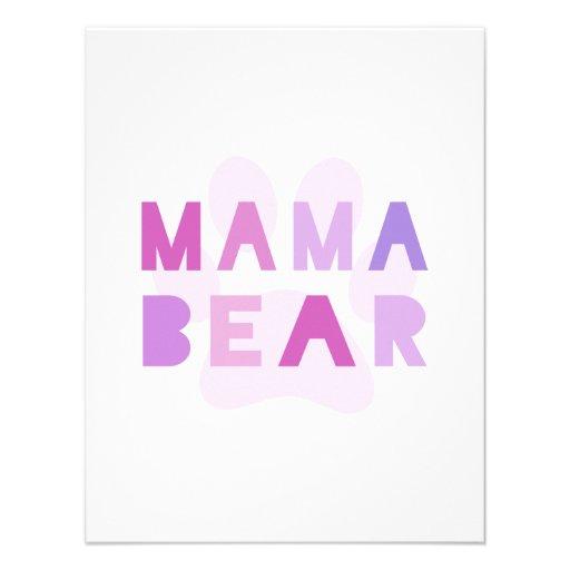 Urso do Mama Convite