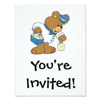 Urso do MilkMan Convite Personalizados