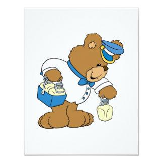 Urso do MilkMan Convites