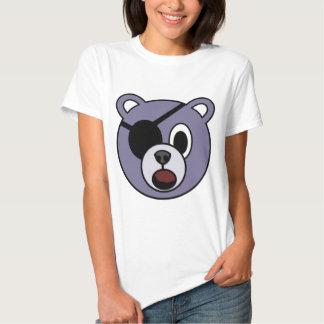 Urso do pirata tshirt