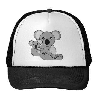 Urso e bebê de Koala bonito Boné