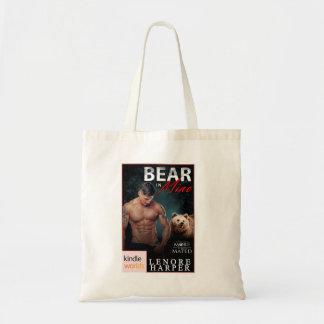 Urso em meus o bolsa do cobrir