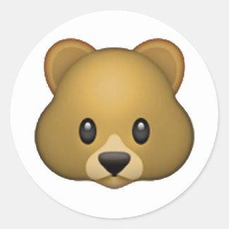 Urso - Emoji Adesivo