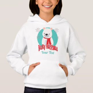Urso Huggable do Natal do inverno de Beary